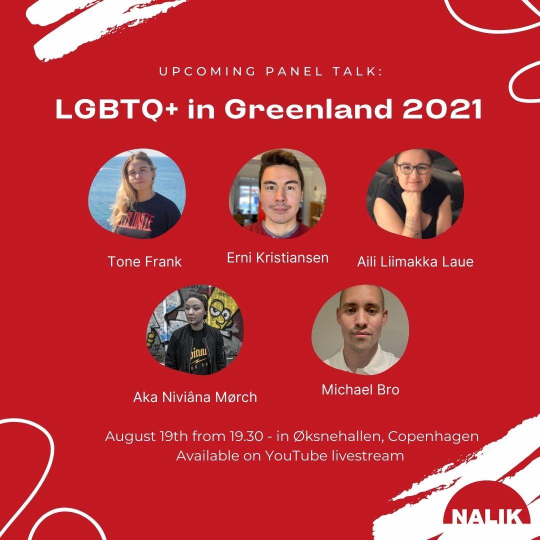Pride, Nalik & talks the 19th of August in Øksnehallen